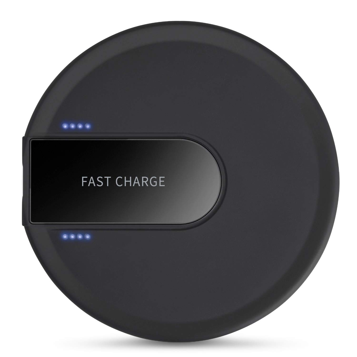Wireless Charger, Hunletai Wireless Charging Pad Compatible with iPhone Xs/XS Max/XR/X / 8/8 Plus, 10W Compatible for Samsung Galaxy S9 /S8 /S7 - ...