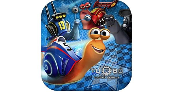 Amazon.com: Turbo the Movie Party Dinner Plates - 8 count by Hallmark: Toys & Games