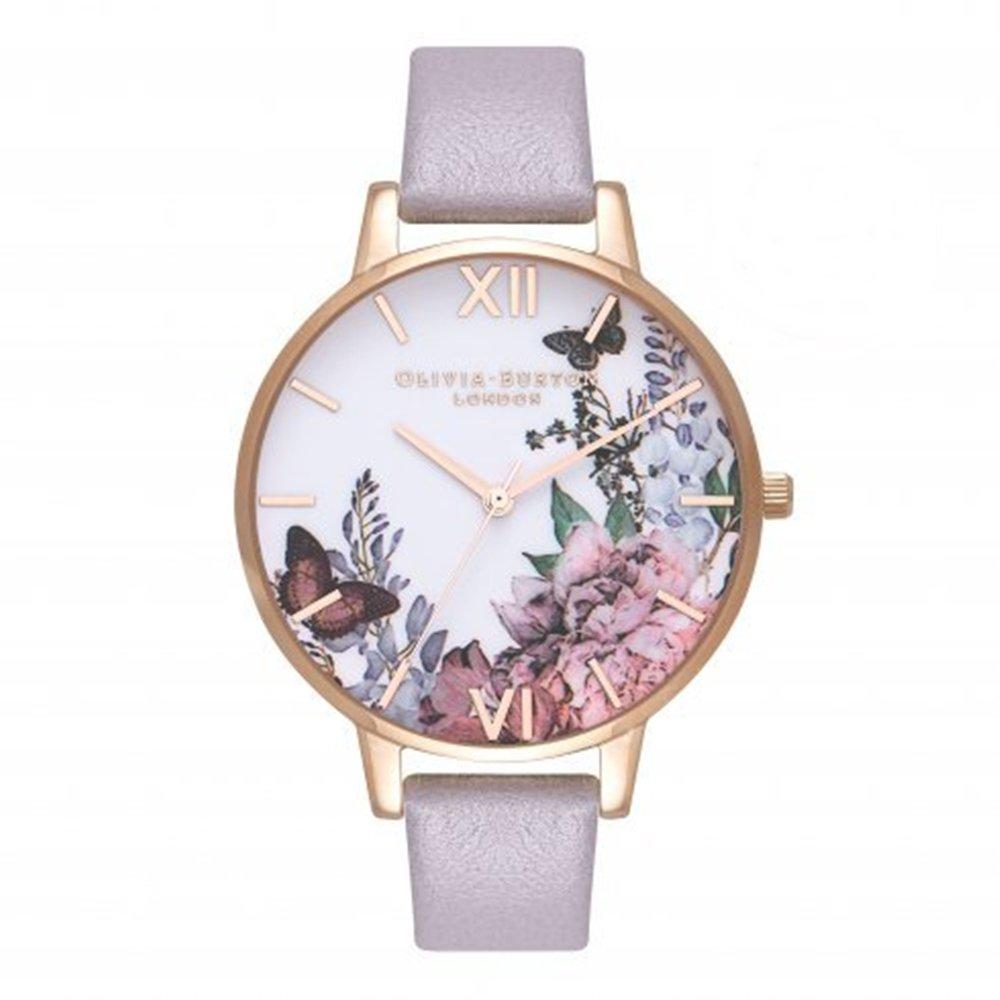 OLIVIA BURTON オリビアバートン 腕時計 AFTER DARK GREY LILAC &ROSE GOLD (アフター ダーク グレーライラック&ローズゴールドル) OB16WG34 [並行輸入品] B075Z2GMP9