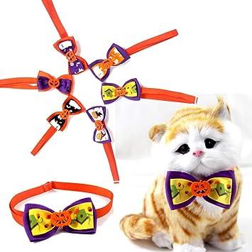 YanYu 6pcs / Pack Corbatas Corbata Lazo para Perro Mascota Mezclar ...