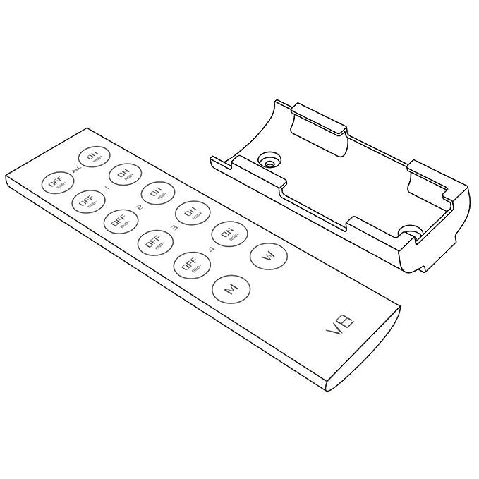Amazon Com Ledenet V8 4 Zone 2 4g Led Rgbw Controller Remote