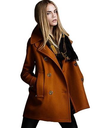 Manteau femme laine melangee