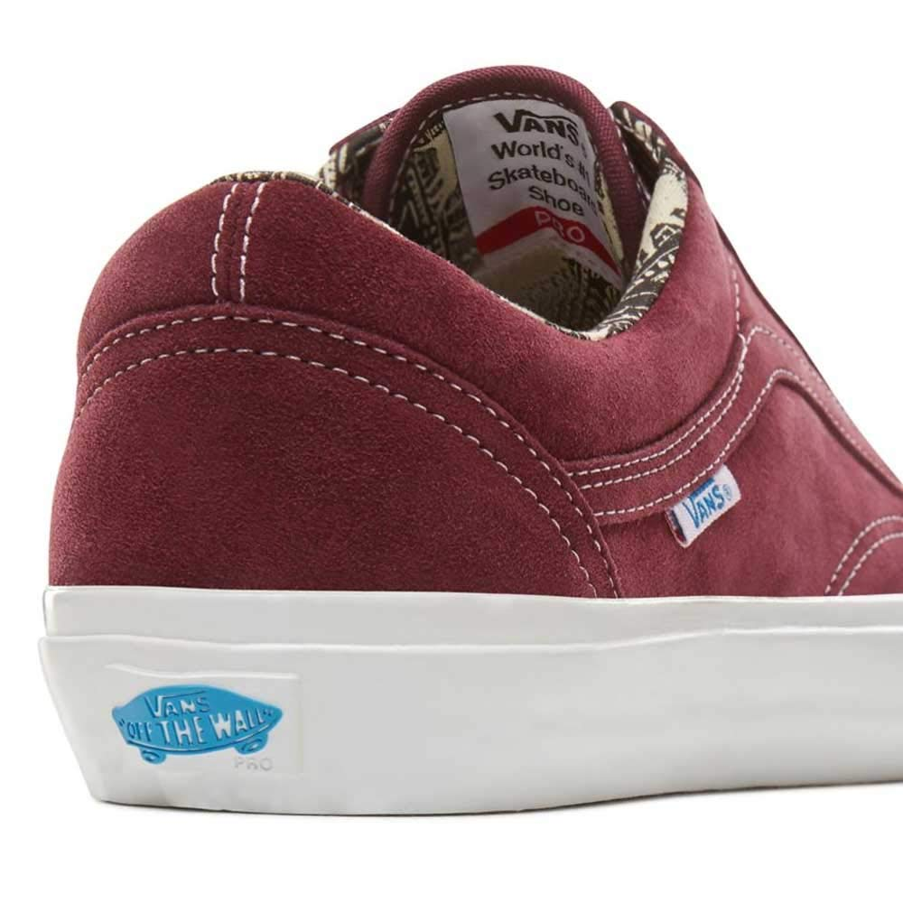 d19f9c4ad04235 Vans Old Skool Pro Ray Barbee OG Burgundy  Amazon.co.uk  Shoes   Bags
