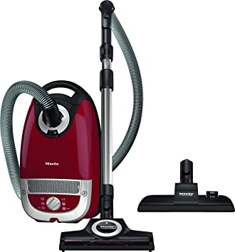 Miele Complete C2 Cat & Dog PowerLine, Cylinder Vacuum Cleaner, Red