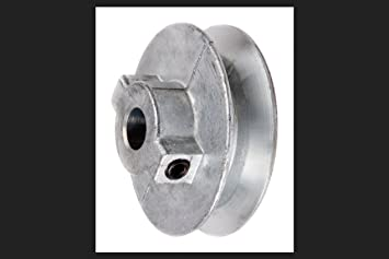 """3-1//2/"""" OD 1//2/"""" Bore CHICAGO 350-A Pulley"""
