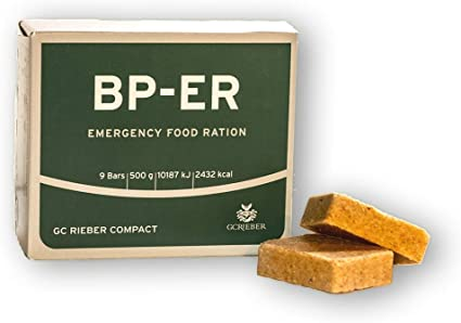 Compact Rieber BP ER Elite Emergency Food Unidad de 500 Gramos ...