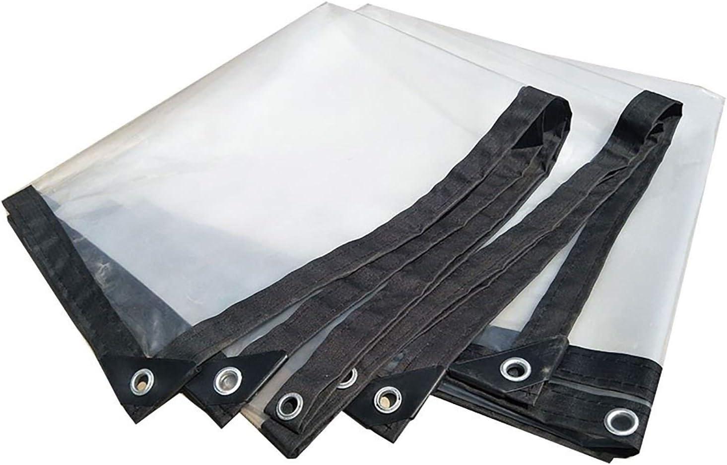 ANUO Lonas Lona Transparente con Ojales, Lona de Malla de Sombra Lona Transparente Transparente Lona Reforzada Bordes Reforzados para techos (Color : Clear, Size : 3x10m/9x30ft): Amazon.es: Hogar