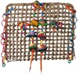 Super Bird Creations 12 by 14-Inch Activity Wall Bird Toy, Medium