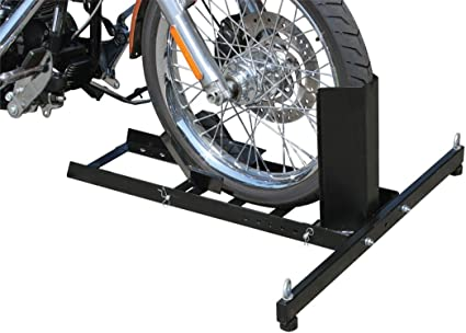 Amazon Com U S General Motorcycle Stand Wheel Chock Sports Outdoors
