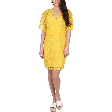 6c713df102cdc Amazon.com: Juicy Couture Womens Lydia Guipure Lace Dress: Clothing