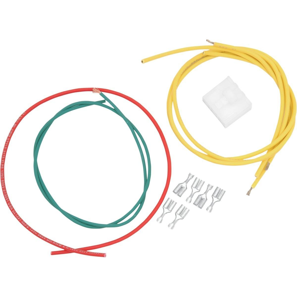 amazon com: ricks motorsport electric rectifier/regulator wiring harness  connector kit 11-103: automotive