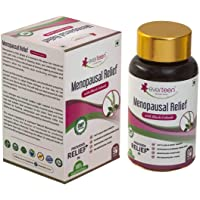 everteen® Menopausal Relief Natural Capsules With Black Cohosh for Hot Flashes in Women – 1 Pack (90 Capsules)