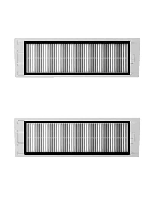 Pack 2 filtros originales para tu aspiradora Xiaomi Mi Robot Vacuum.: Amazon.es: Hogar
