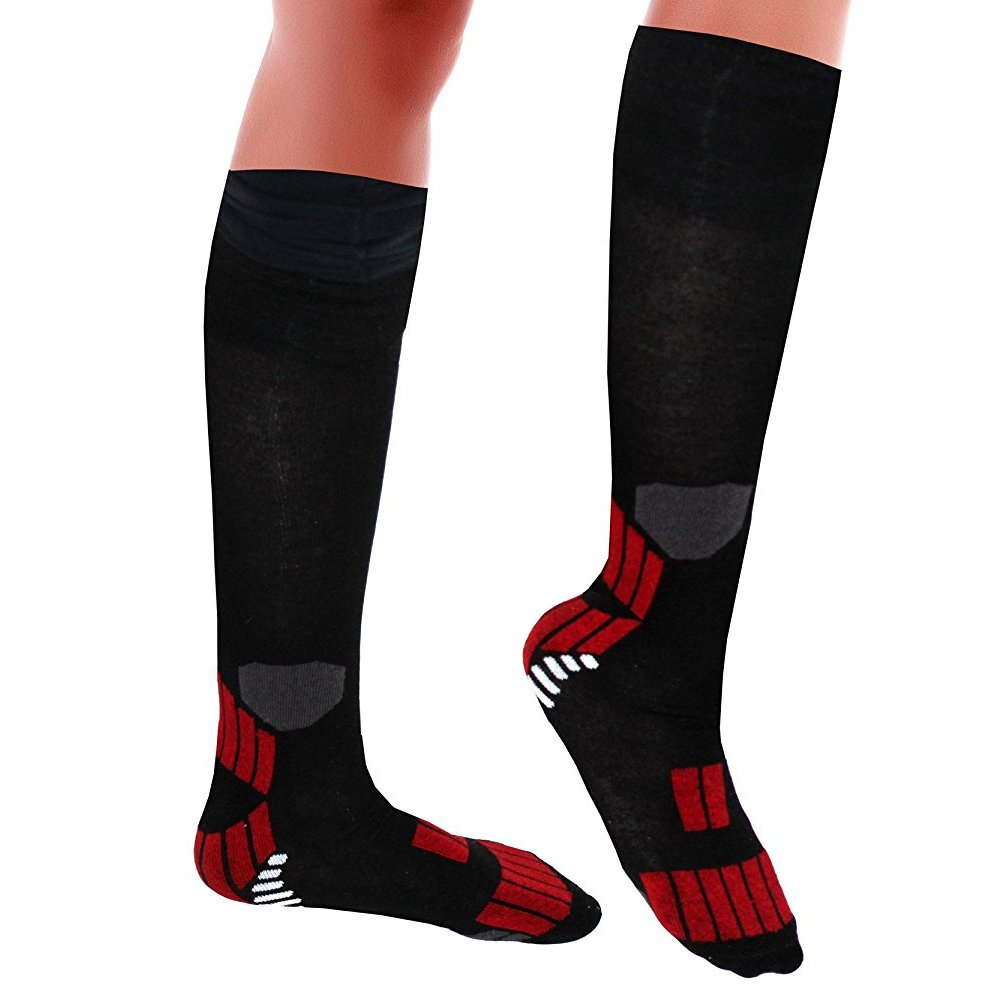 Top Quality Fashionable Pattern Calves High Compression Socks - 24 Pair by Tonewear