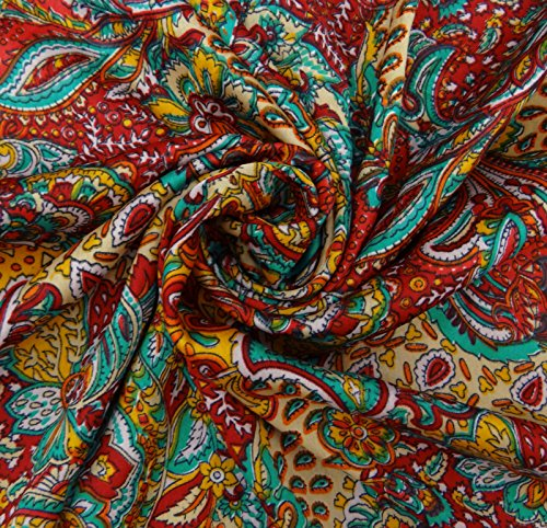 Top best 5 paisley fabric by the yard for sale 2017 for Cloth for sale by the yard