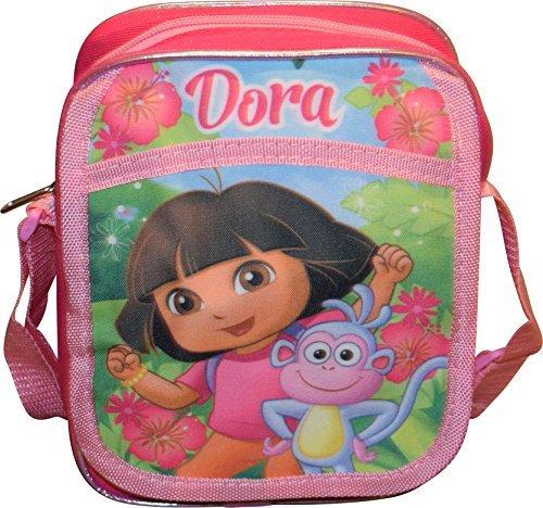 Nickelodeon Dora The Explorer Girl's Small Crossbody Bag Purse - Dora The Explorer Purse