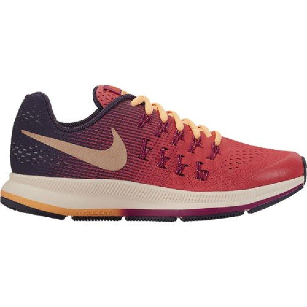 Nike Kid's Zoom Pegasus 33 (GS), Ember Glow/Metallic Red Bronze, Youth Size 7