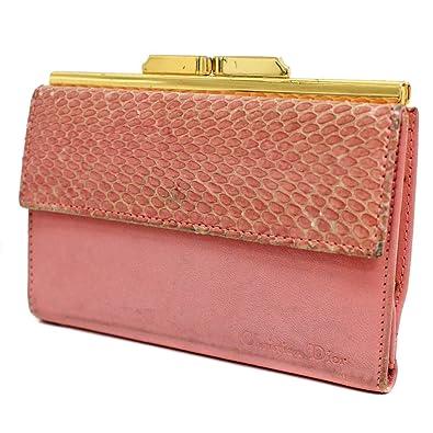 on sale 3a662 d0a5a Amazon   クリスチャンディオール Christian Dior がま口 三 ...