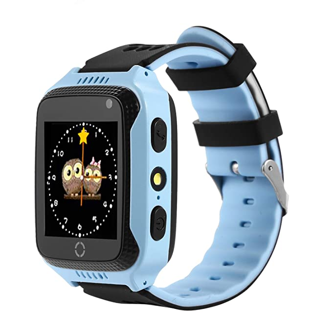 Vailsa Smart Watch for Kids - Smart Watches for Boys Smartwatch GPS Tracker Watch Wrist Android Mobile Camera Cell Phone Best Gift for Girls Children ...