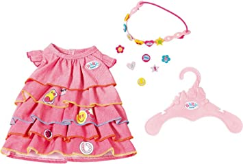 Babypuppen & Zubehör Zapf BABY born® Sommerkleid Set mit Pins ab 3 Jahren