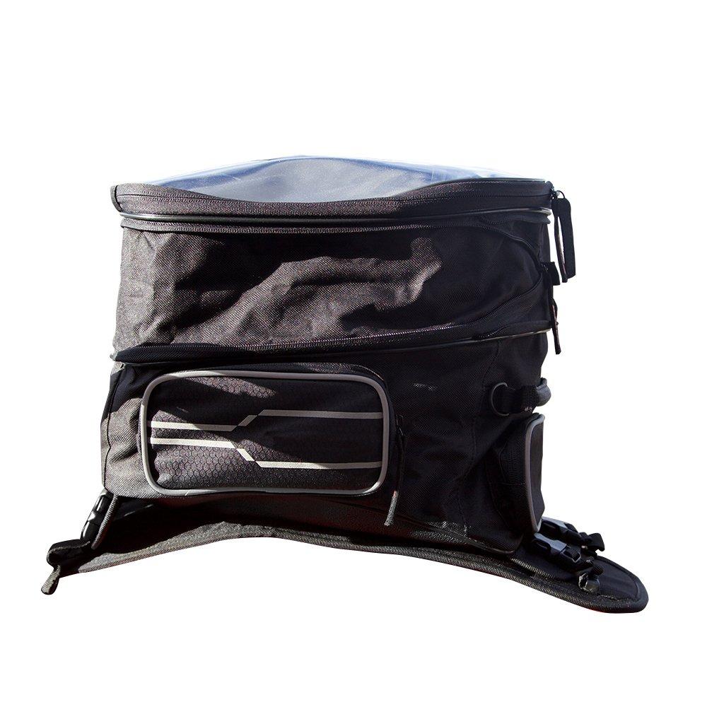 Auto Companion Sacoche de ré servoir pour moto avec housse impermé able et sangle de transport AUTOC-24