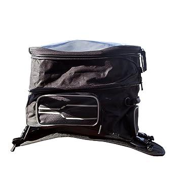 Bolsa para depósito de moto de Auto Companion, con cubierta impermeable y correa de transporte