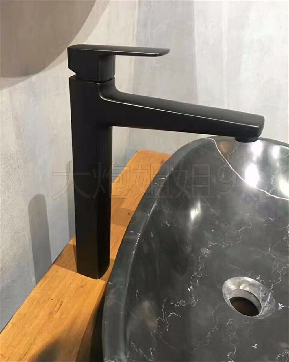 Gyps Faucet Basin Mixer Tap Waterfall Faucet Antique Bathroom Mixer Bar Mixer Shower Set Tap antique bathroom faucet The Copper Black matte black basin mixer basin mixer basin mixer high-feet tall and