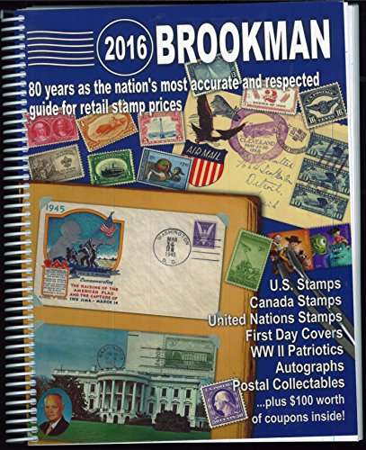 2016 Brookman United States, United Nations & Canada Stamps and Postal Collectibles Spiral Bound