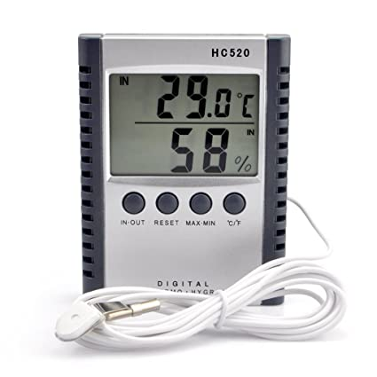 Amazon.com: iKKEGOL - Termómetro digital para interiores y ...