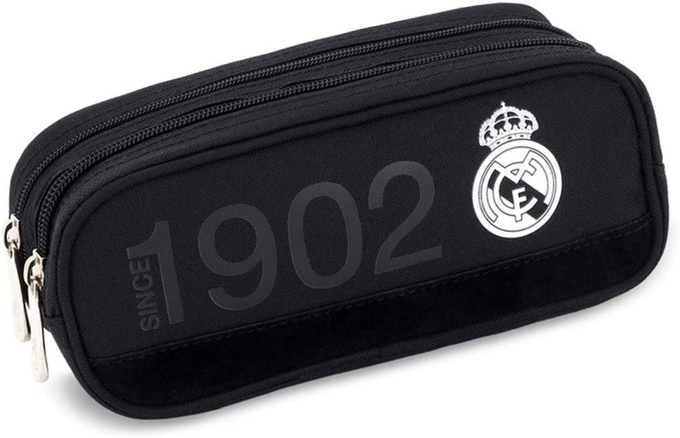 Real Madrid 94787580 Pencil Case 100 x 230 x 80Ã'Â mm by Unbekannt: Amazon.es: Deportes y aire libre
