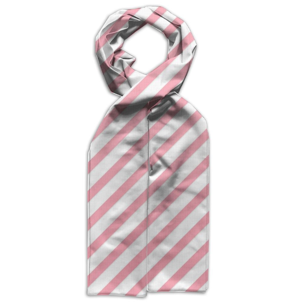 Pink Stripe Printing Scarf Warm Soft Fashion Scarf Shawl Kids Boys Girls