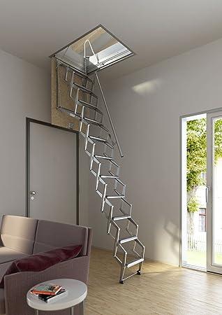 Einziehbare Treppe mit Scherenhubsystem, manuell, für Dachboden ...