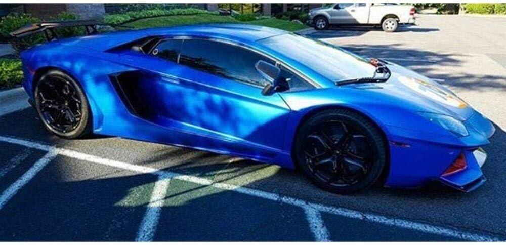 3m 1080 Satin Perfect Blue S347 Vinyl Car Wrap Film Sample 3in X 5in Auto