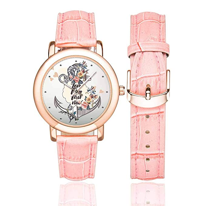 Amazon.com: InterestPrint - Reloj de pulsera para mujer ...