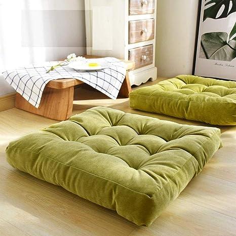 Amazon.com: Cojín para asiento de suelo, grueso, sólido y ...