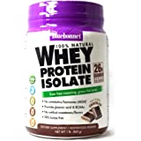 BlueBonnet 100% Natural Whey Protein Isolate Powder, Chocolate, 1 Pound