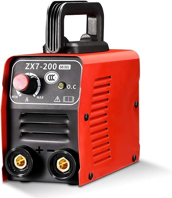 KKTECT Soldador Inverter IGBT, 200A Portátil 10-200A 4000W con Mascara