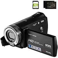 Camcorders ORDRO HDV-V12 HD 1080P Video Camera Recorder Infrared Night Vision Camera Camcorders with 16G SD Card and 2…