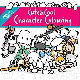 Amazon JMKit Cute And Cool Character Colouring A