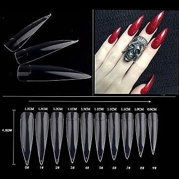 Nail Care, Manicure & Pedicure Self-Conscious Fake Long Diy Coffin Shape Nail Art Tips False Cover False Ballerina Nails