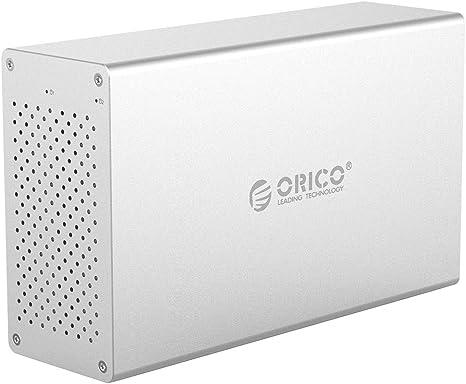 Unidad de disco duro externa con doble puerto USB 3.0 de aluminio ...
