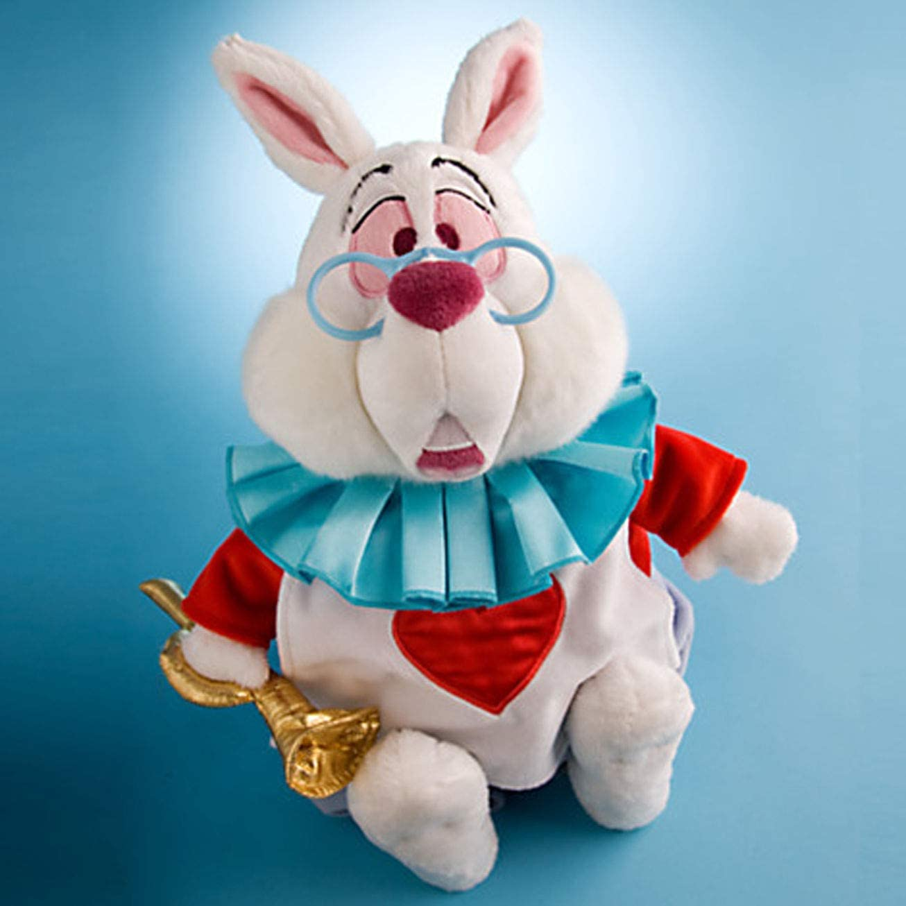 B0038AF6W6 Disney Alice In Wonderland Exclusive 15 Inch Deluxe Plush Figure White Rabbit 41U7BX5x5AL.
