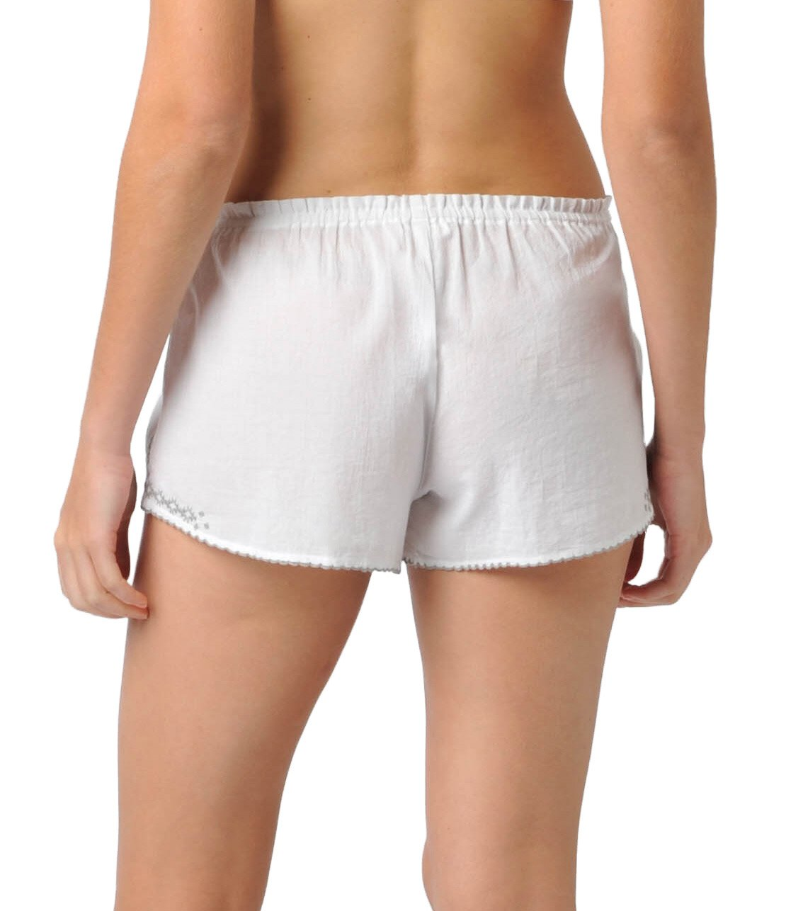 Naked Womens Cotton Voile Lace Trim Shorts by Naked (Image #2)