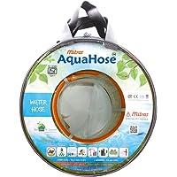 "AquaHose Water Hose (12.5mm ID) (1/2"") - 50 ft. (15 mtr) ISI Marked Orange Hose Pipe"