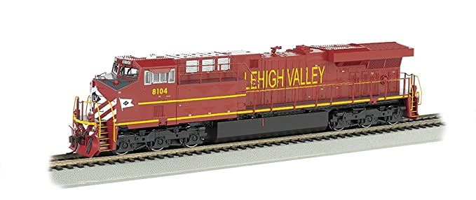 Bachmann GE ES44AC DCC Sound Value Equipped Diesel Locomotive - LEHIGH  VALLEY - HO Scale