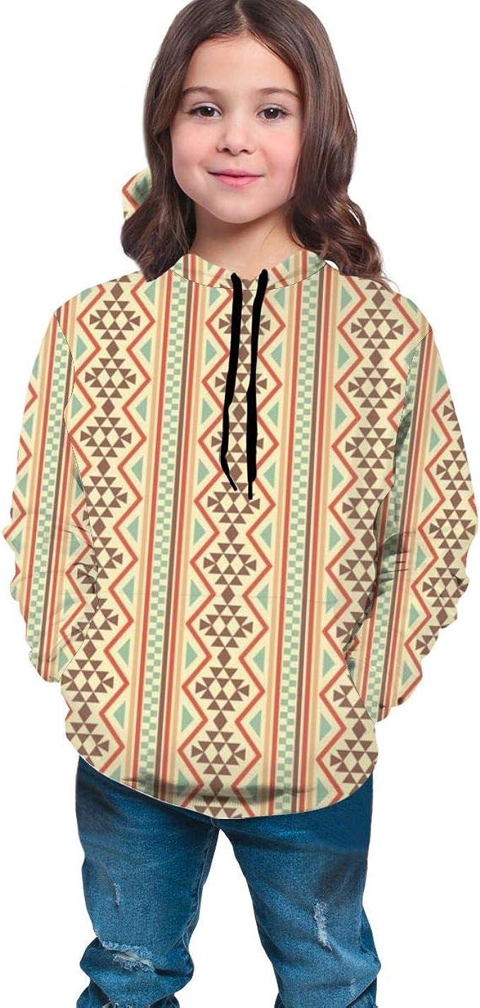 Native American Background Art Men 3D Print Pullover Hoodie Sweatshirt with Front Pocket