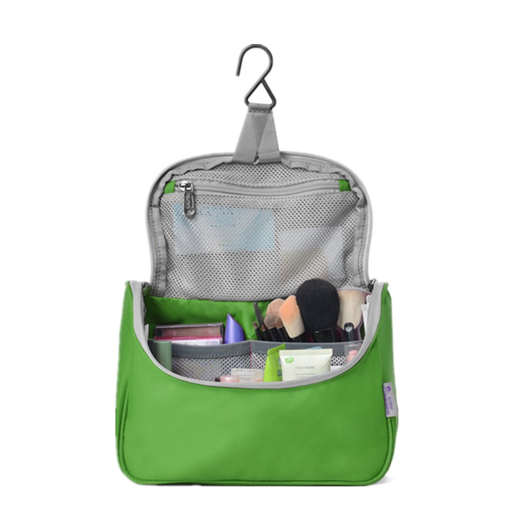 Mountaintop Toiletry Bag/Makeup Organizer/Cosmetic Bag/Portable Travel Kit Organizer/Household Storage Pack/Bathroom Storage with Hanging for Business,Vacation,Household with Hanging Hook Purplish Red DSM5836ggd03