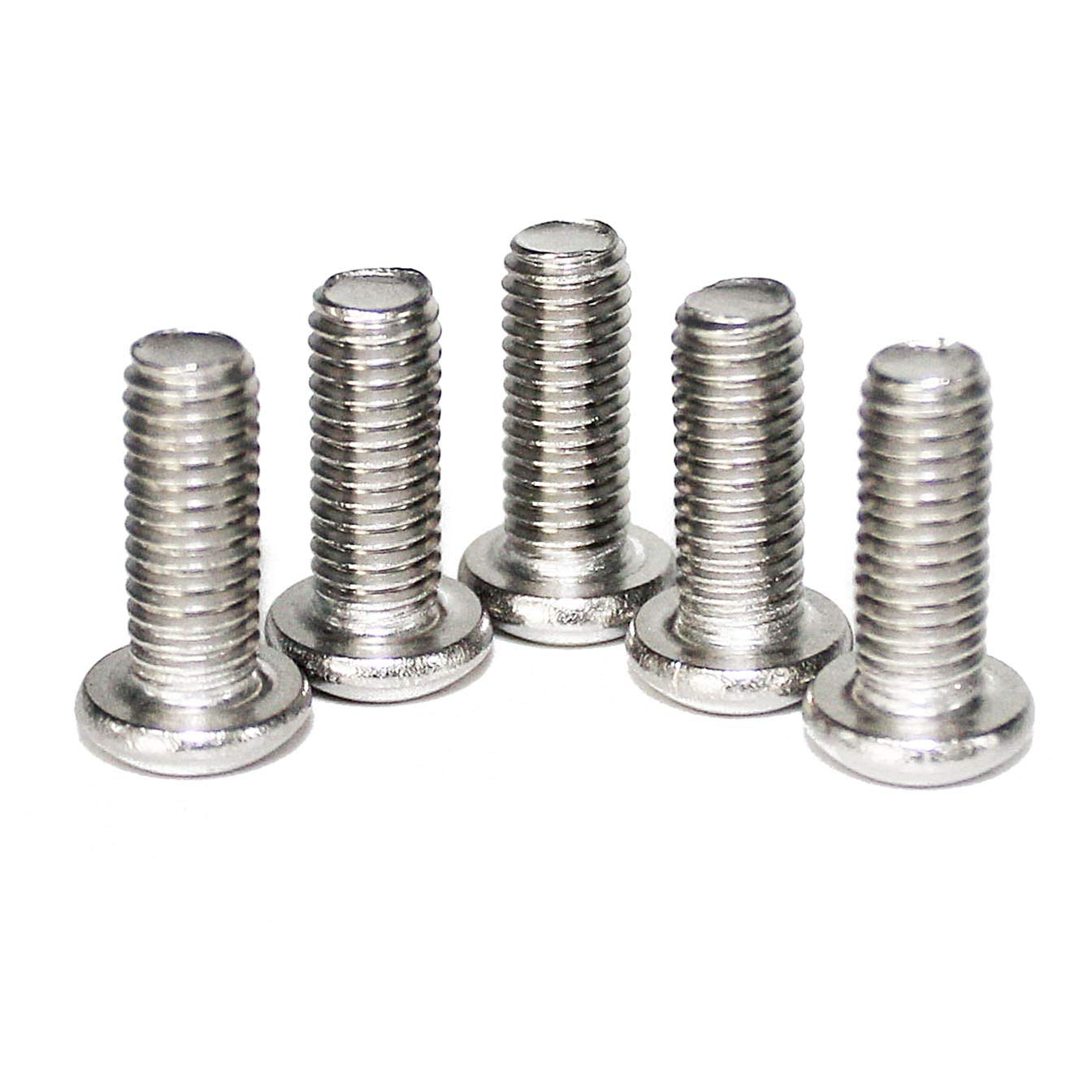 Allen Hex Drive 100 Pcs M3-0.50 x 5mm Button Head Socket Cap Screws ISO 7380 Passivated 18-8 Stainless Steel by Fullerkreg,Come in an Easy-use Storage Case