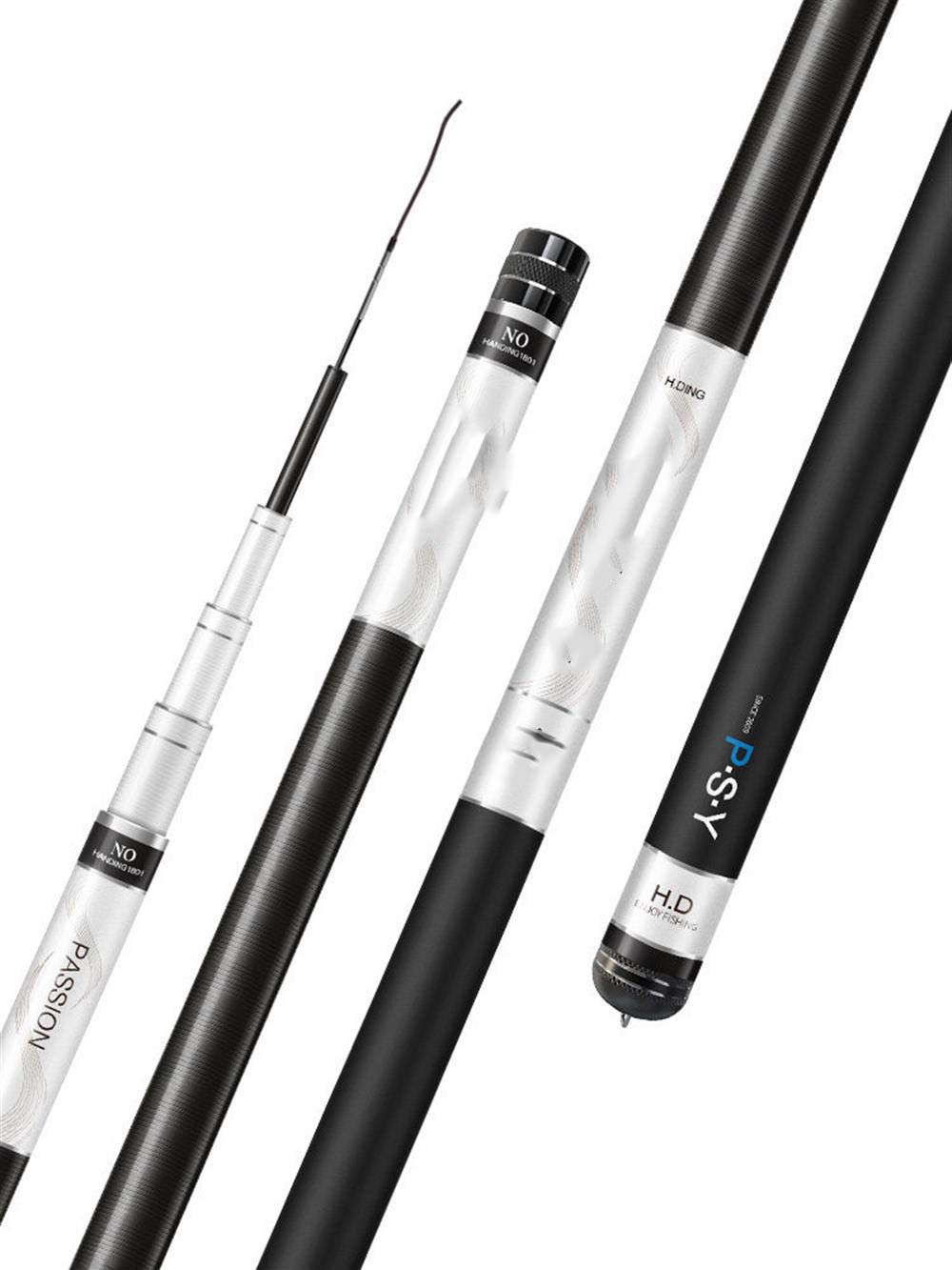 2.7m Fishing Rod, Light and Portable Telescopic Fishing Rod and Reel Combination