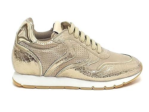 Voile Blanche - Zapatillas para Mujer Dorado Dorado Dorado Size: 36 EU: Amazon.es: Zapatos y complementos